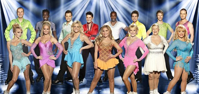 Dancing on Ice: The Lycra nightmare begins (Picture: ITV)