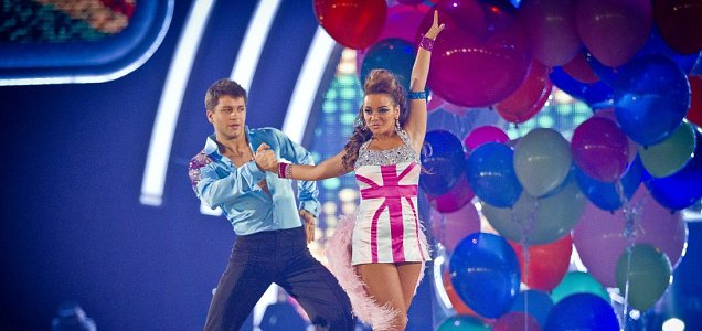 Chelsee Healey gained dance experience making it to the final of last year's Strictly Come Dancing (Picture: BBC)