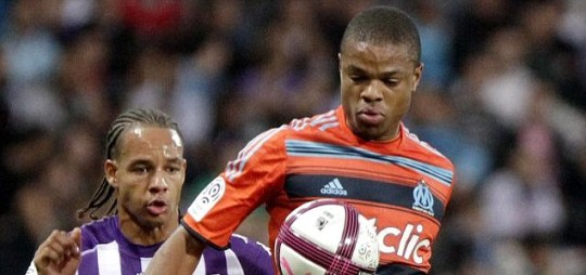Loic Remy of Olympique Marseille