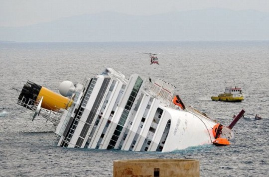 Costa Concordia cruise ship