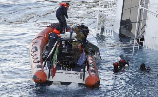 Costa Concordia body found
