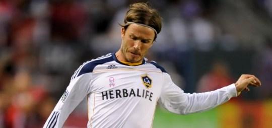 David Beckham, Paris Saint-Germain.