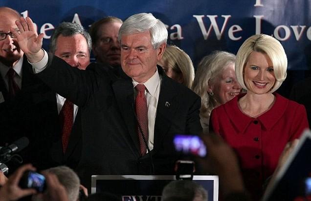 Newt Gingrich, South Carolina