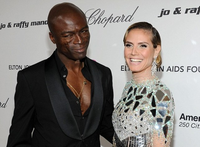 WEST HOLLYWOOD, CA - FEBRUARY 27: Musician Seal and model Heidi Klum arrive at the 19th Annual Elton John AIDS Foundation Academy Awards Viewing Party at the Pacific Design Center on February 27, 2011 in West Hollywood, California. (Photo by Larry Busacca/Getty Images for EJAF) *** Local Caption *** Seal;Heidi Klum