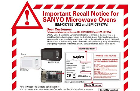 Sanyo Serial Number Lookup