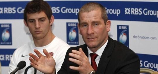 England rugby's interim head coach Stuart Lancaster