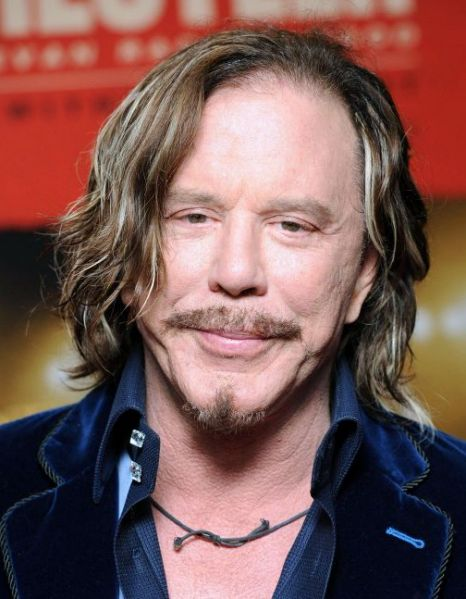Mickey Rourke 'has plastic surgery' to play Gareth Thomas ...
