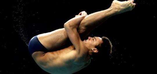 London 2012 Olympics diving Tom Daley