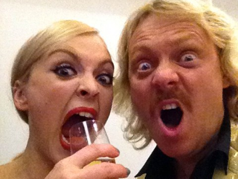 Is Fearne Cotton pregnant with baby number two? Keith Lemon gives a massive hint at the National Television Awards