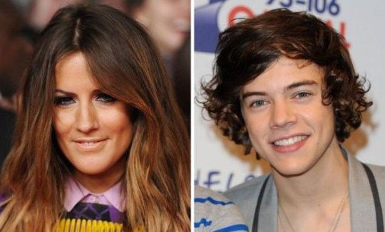 Caroline Flack and Harry Styles, Celebrity Face-Off.