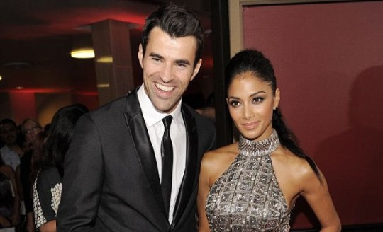 Steve Jones and Nicole Scherzinger, US X Factor