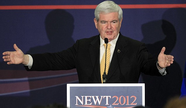 Newt Gingrich, Eye of the Tiger