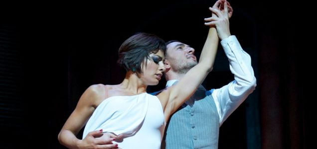 Flavia Cacace and Vincent Simone Midnight Tango