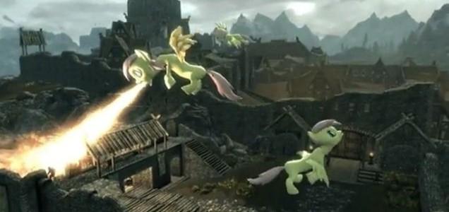 The Elder Scrolls V: Skyrim - now with added Fluttershy