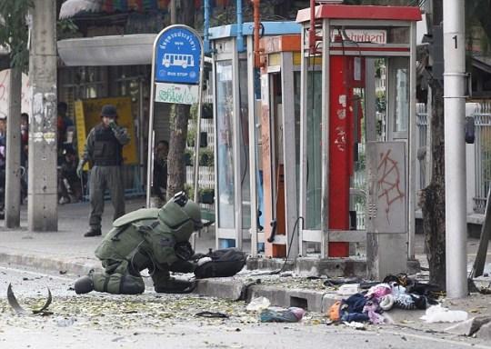 Bangkok bomb blast, Iran