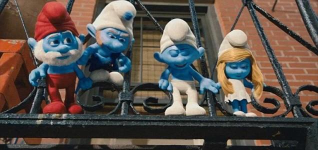 Smurfs DVD, Porn, childrens party