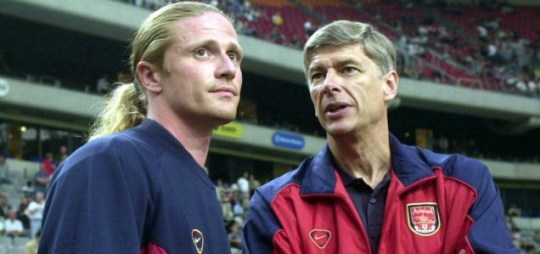 Emmanuel Petit, Arsenal.
