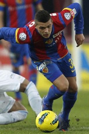 FC Basel's Granit Xhaka