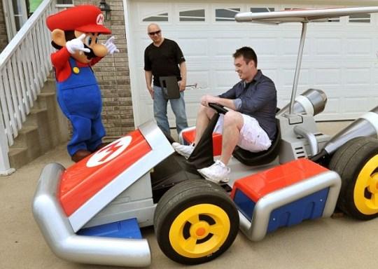 Nathanial Stehley, Mario Kart