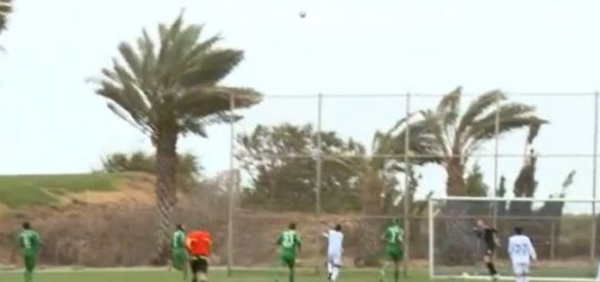 Maccabi Haifa , own goal, wind.