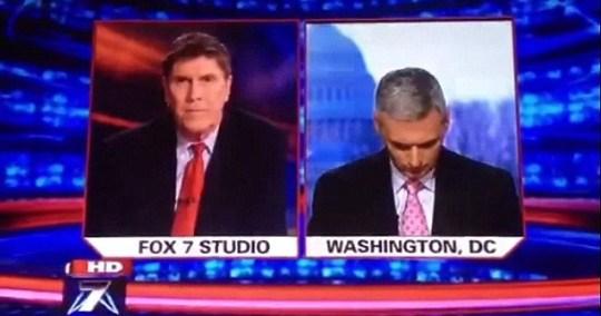 Fox News reporter Doug Luzader