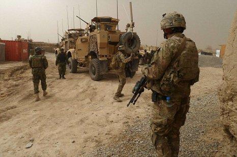 US soldiers Afghanistan