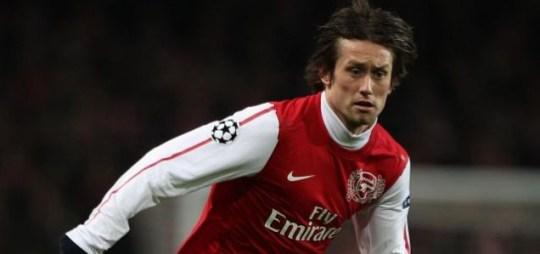 Tomas Rosicky, Arsenal.