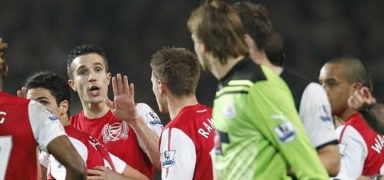 Robin van Persie, Newcastle United, Tim Krul