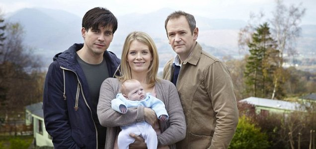 Downton Abbey regular Rob James-Collier (left) stars in Love Life (Picture: ITV)