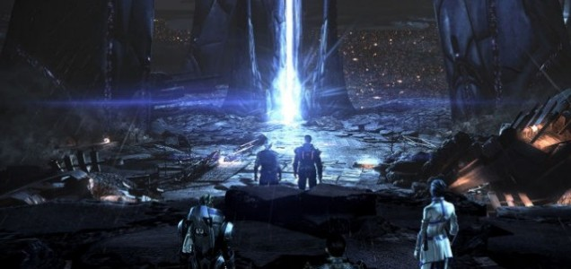 Mass Effect 3 - it's everything north of this scene that's the issue
