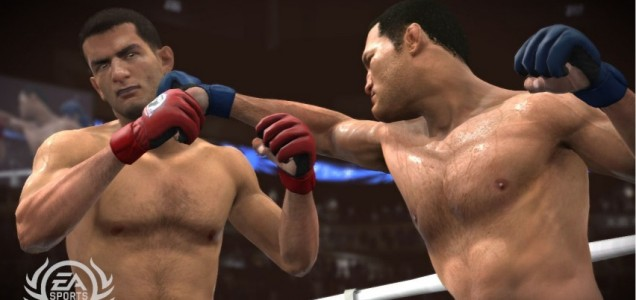 EA Sports MMA - online play has just been knocked out