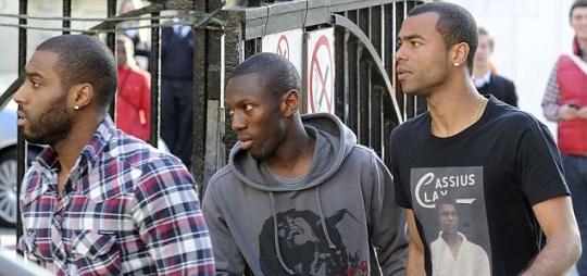 Shaun Wright-Phillips, Ashley Cole, Fabrice Muamba