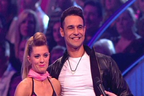 Chico performed a 50s inspired routine in the DOI final (Picture: ITV)