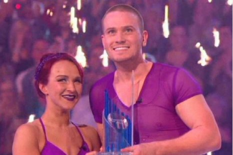 Matthew Wolfenden thought he would be a 'laughing stock' in Dancing On Ice (Picture: ITV)