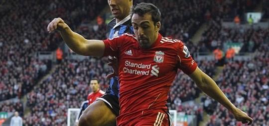 Liverpool's Jose Enrique
