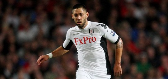 Fulham's Clint Dempsey