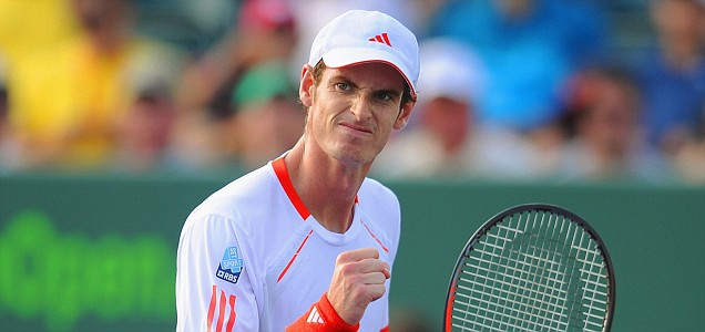 Andy Murray of Great Britain
