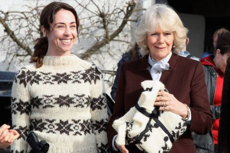 Sofie Grabol Duchess of Cornwall