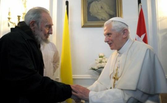 Pope, Castro