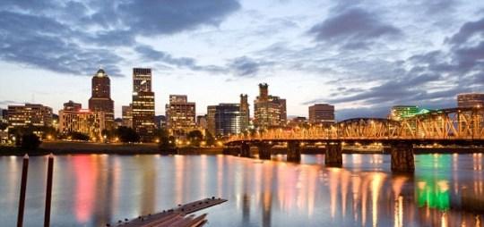 Oregon's biggest city, Portland
