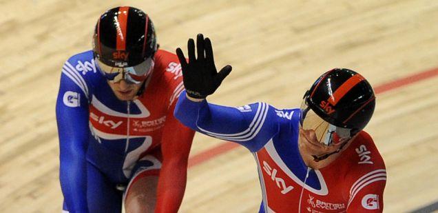 Chris Hoy, Jason Kenny