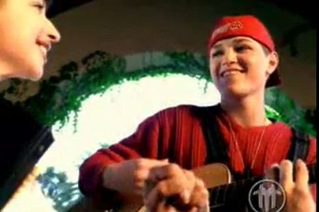Girls go crazy for Danny O'Donoghue's 'child Fred Durst' look (Picture: YouTube)