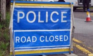 The A24 was closed for around five hours