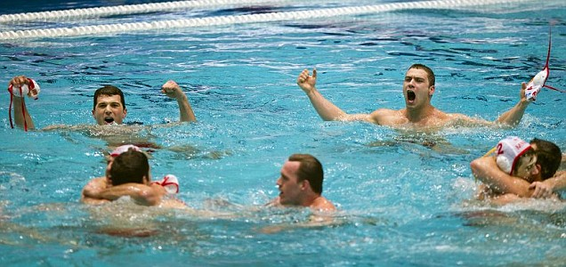 London 2012 Olympics water polo