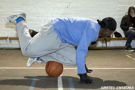 Basketballers try out for Freestyle