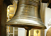 A bell: takes its toll