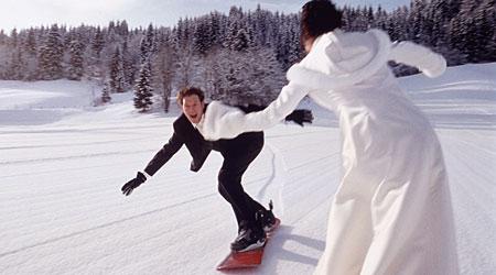 wedding ski