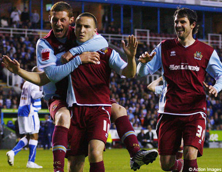 Burnley win play-off semi