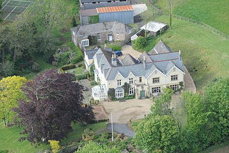 Anthony Sheen lives in sprawling Curtisknowle House in Devon
