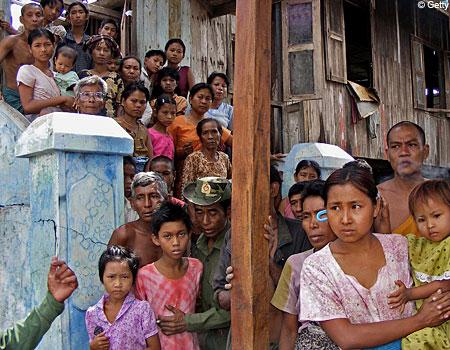 burma villagers